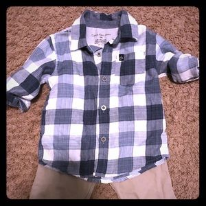 Handsome Calvin Klein Outfit for a cute baby boy